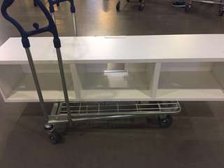 Ikea Besta tv bench rak tv