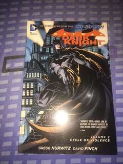 Batman red rain and cycle of violence tpb