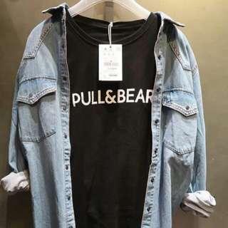 Kaos Pull & Bear Top