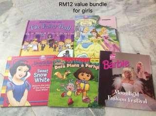 Book bundle for girls
