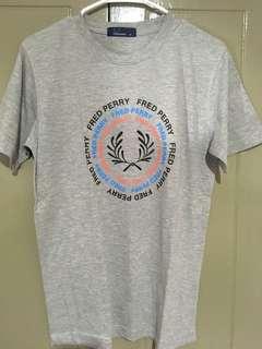 Gray Fred Perry Tshirt