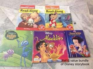 Disney storybooks bundle