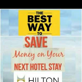 Hilton Diamond member (worldwide useable)