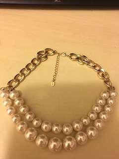 仿珍珠頸飾
