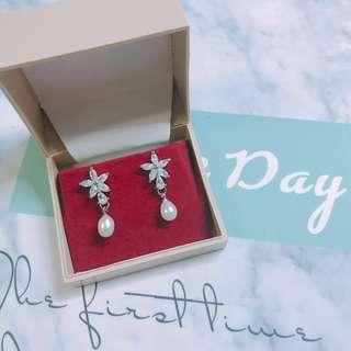 (包郵)珍珠耳環