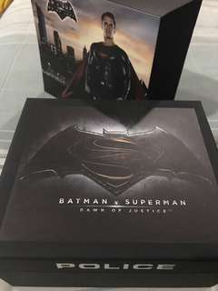 Police BvS Superman Watch Limited Edition
