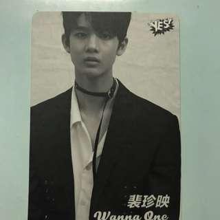 Wannaone yes card