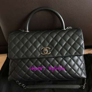Lowest! CHANEL COCO HANDLE BLACK