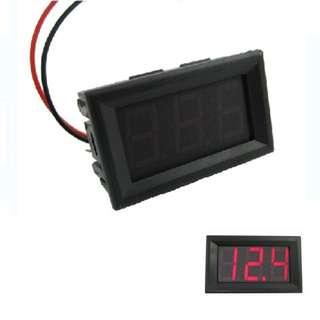 12/24v voltage meter