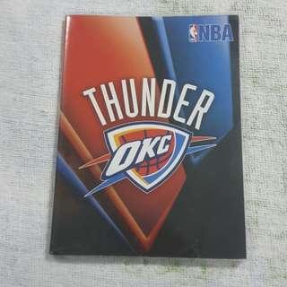 Replica Brand New NBA Oklahoma City Thunder Notebook