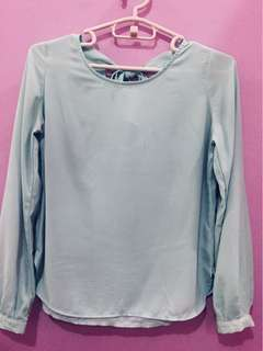 Forever 21 F21 Top in Mint Green