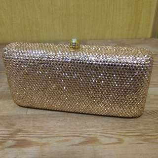 Evening Clutch with Swarovski Crystal