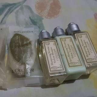 L' Occitane Verbena Shampoo, Conditioner and Soap