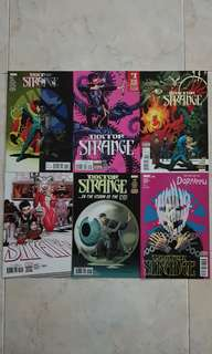 "Doctor Strange Vol 4 (Marvel Comics 6 Issues, #11 to 16; complete story arc on ""Blood in the Aether"")"