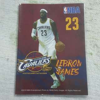 Replica Brand New NBA LeBron James Cleveland Cavaliers Notebook