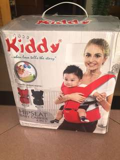 Kiddy 4in1 hipseat carrier black