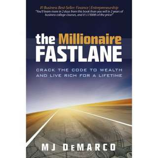 eBook - The Millionair Fastlane by M. J. Demarco
