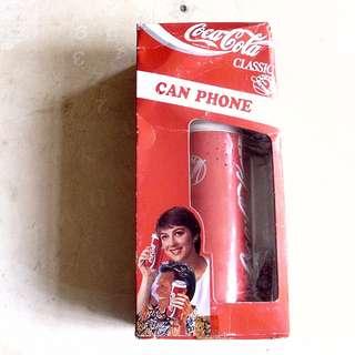 92年可口可樂美版Can Phone一部