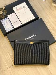 Chanel Clutch Men Wallet New Design