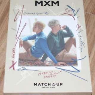 ON HAND UNSEALED ALBUM MXM - MATCH UP X VERSION