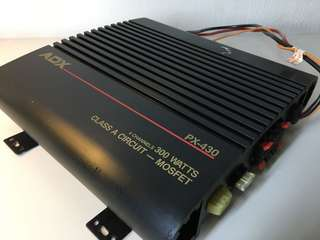 ADX car amplifier 300 watts