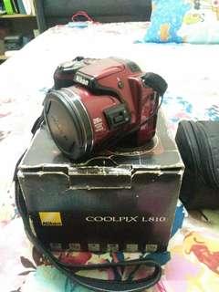 Nikon Coolpix L810 Compact Digital Camera