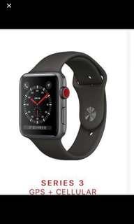 收 Apple Watch Series 3 42mm cellular
