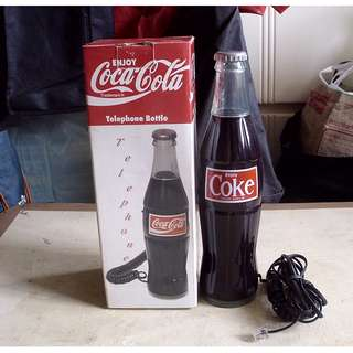 90年代可口可樂美版Telephone Bottle一部