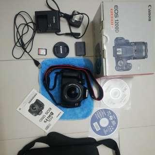 Canon DSLR EOS 1200D (1 Set)