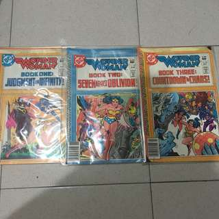 DC WONDER WOMAN #291-293 Complete DC Superheroine