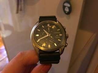 Citizen Eco Drive Titanium Watch 85% New