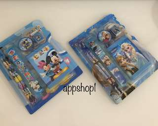 Wallet stationary set- children party goodies bag, goody bag gift