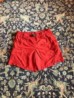 Red Columbia Shorts