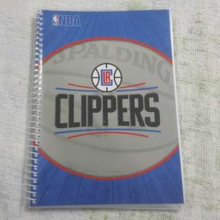 Replica Brand New NBA Los Angeles Clippers Wire-O Notebook