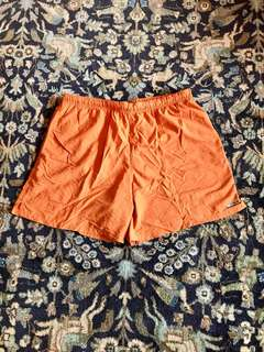 Orange Columbia Shorts