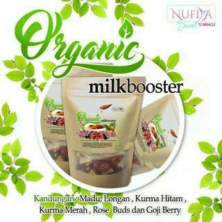 Organic Milkbooster + FREE Postage