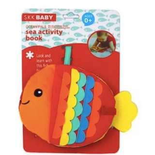 Baby Book/ Baby Cloth Book/ Baby Toy/ SKK Ocean Pals Sea Activity Book