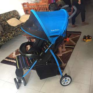 Sweet Cherry Stroller #Baby30