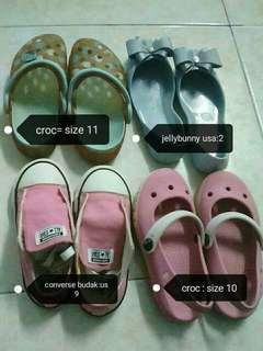 Girl branded shoes-pre loved
