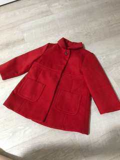 Mothercare Red Trench Coat