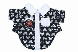 Mickey mouse shirt for pet
