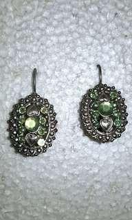 Green Earrings - Super Nice!