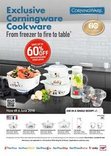 WANT TO BUY :) NTUC Bonus Points for Peanuts Corningware:)