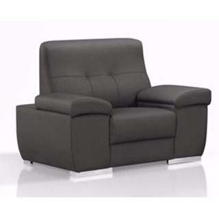 !新生活家具! 台中免運費 皮沙發《天星》貓抓皮 寵物 灰色 1人座 單椅 獨立筒 123沙發組 工廠直營 臺灣製造