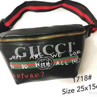 GUCCI Coco Capitan Belt Bag Black