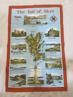Cotton Poster - 75cm x 45cm (Isle of Sky - Scotland)