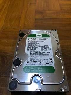 "WD Hard disk 2TB 3.5"" desktop"