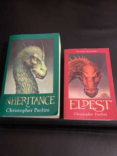 Eragon Series - Eldest (Vol 2) & Inheritance (vol 4)