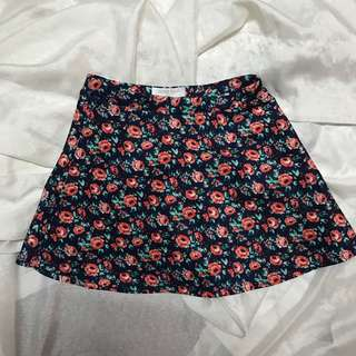FOREVER21 GIRLS floral skirt