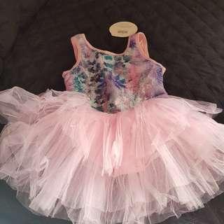 Pink tutu for ballet class